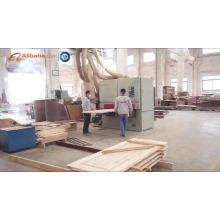 China Produzierte Hersteller billig PVC Holz Schlafzimmer Tür