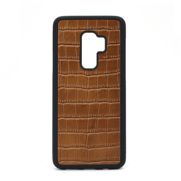 Pour Samsung S9 Crocodile Leather Phone Case