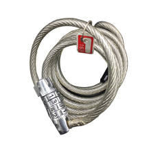 High quality ANLI bike cable bicycle lock