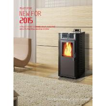 8-11kw Environment Friendly Wood Pellet Fireplace (CR-01)