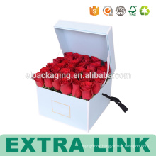 High Quality Beautiful Printing Flower Packaging Paper Box