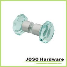 Crystal Glass Door Handle Shower Room Shower Knob (DKB19)