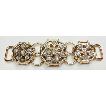 Golden Sandal Trim, Delicate Decorative Chain
