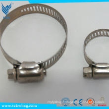 EN 316L14.2mm stainless steel hose hoops used in boat
