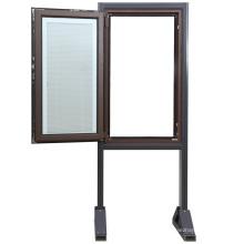 Fenêtre à double vitrage Custermized en aluminium
