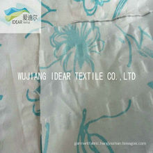 Printed 100% Cotton Seersucker Fabric For Garment