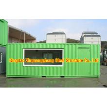 Строительный участок Дом / контейнерный магазин (CH-10)