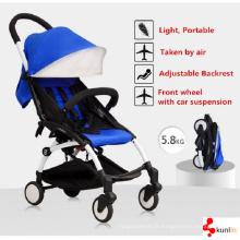 2016 nouveau modèle 3 dans 1 bébé poussette / landau