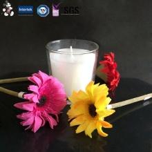 Melhor venda de proteção ambiental nova chegada barato copo de vidro vela
