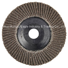 4.5′′ Calcination Oxide Flap Abrasive Discs (Plastic cover 24*15mm 40#)