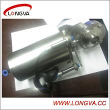 Пневматический клапан с сигнальным переключателем
