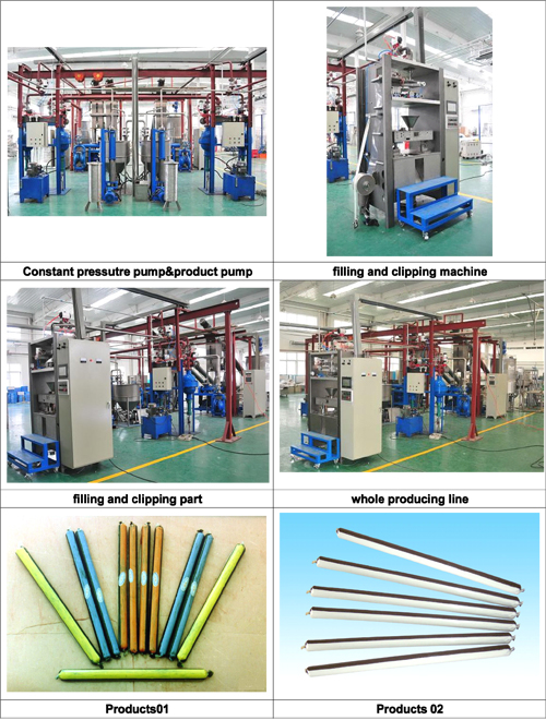 Automatic Resin Anchor Agent Production Line detail2