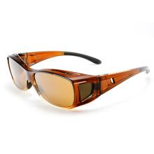Дизайнерская мода Поляризованная на солнцезащитные очки для глаз (14297)