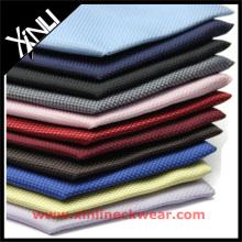 Tecido de cor sólida em tecido de seda italiano