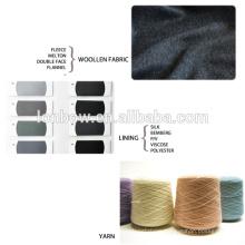 Plaid design men business Custom tailor suit wool fabric