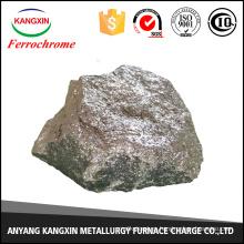 La escoria de ferrocromo es ampliamente utilizada en la industria de la fundición