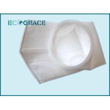 Bolsa de filtro de líquido lavável de fibra de poliéster