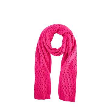 Модный вязаный шарф для девочек, зимние теплые шарфы
