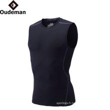 Usure active de gymnastique active de sports pour des vêtements de remise en forme personnalisés d'hommes