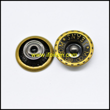 Moveable Jeans Button in High Quality