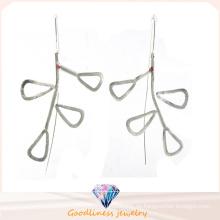 Art und Weiseschmucksachen der Frauen und Qualität 925 silberner Ohrring (E6579)