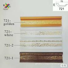 Украшения из полистирола в азиатском стиле для молдингов короны / потолочных молдингов / карнизов короны