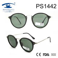 2017 de forma redonda de la PC delgado señora dama gafas de sol (PS1442)