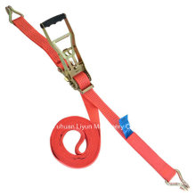 5000kg Ergo Ratchet Strap with Double J Hook
