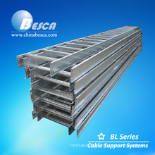 Outdoor Galvanized Steel Supplier Punching Cable Ladders