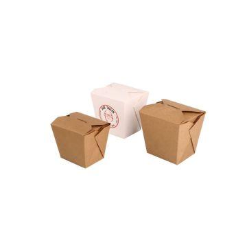Novo design criativo caixa de papel à prova de vazamento