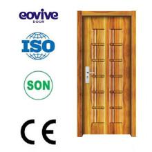 Interior a prueba de sonido melamina puerta de madera diseños modernos