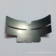 Feuille d'acier en silicone Partie d'estampage métallique de précision