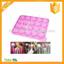 Molde del estallido de la torta del silicón del molde de la torta del silicón de la alta calidad