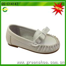 Hochwertiger weicher Sole-Leder-Baby-Schuh