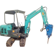 Mini Excavadora De 800kg Para Granja