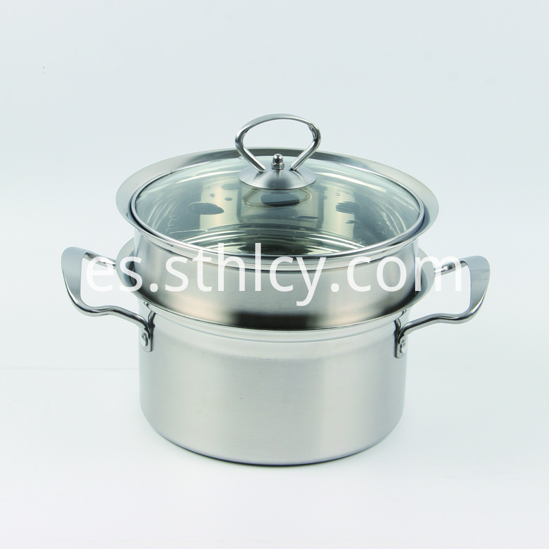 Stainless Steel Food Steamer Pot