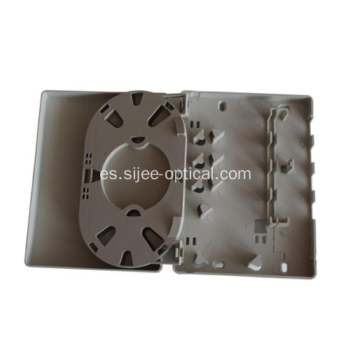 Soporte de pared de 4 puertos Fiber Optic Socket