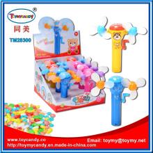 Super Hand-Drive Mini Fan Toy Candy