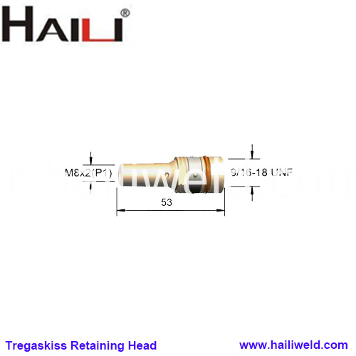 404 3 Retaining Head Tregaskiss