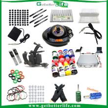 Getterbetterlife personalizado 1Tattoo máquina UFO poder fornecimento tatuagem Kit Sale