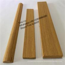 Moldeado de madera de teca