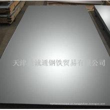 Chapa 405 de aço inoxidável e placa
