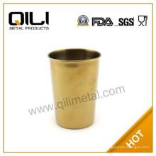 FDA 18/8 Edelstahl Golden Schnapsglas, billig und einzigartige Schnapsgläser für Neuheitgeschenk