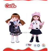 Süßes Baby-Puppe-Plastik Nettes entzückendes Mädchen-Barbie-Puppe-reizendes großes Auge