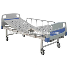 Shanghai manual folding medical bed, operating bed, bed hospital