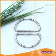 Внутренний размер 41 мм Металлические пряжки, Металлический регулятор, Металлическое кольцо D-Ring KR5082