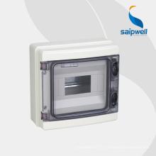 Boîte de distribution électrique extérieure de Saip IP66, boîte 380 * 273 * 110mm de MCB