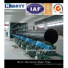3pp tubería de acero anti corrosión