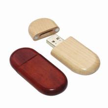 Memoria USB de 32gb del llavero USB de madera del palillo