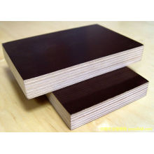 21mm Shuttering Concrete Plywood with Brown Film Poplar Core for Construction